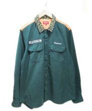 SUPREME(シュプリーム)の古着「ワークシャツ」|グリーン