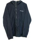 Columbia(コロンビア)の古着「ナイロンフーデッドジャケット」 ブラック
