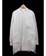 The Viridi-anne(ザ ヴィリジアン)の古着「ウェザーロングシャツ WH」|ホワイト