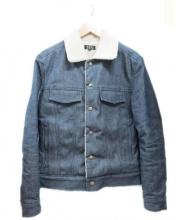 A.P.C.(アーペーセー)の古着「ボアデニムジャケット」|インディゴ