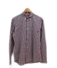 SUPREME(シュプリーム)の古着「チェックシャツ」|レッド