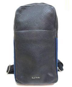 Paul Smith(ポールスミス)の古着「レザーボディーバッグ」|ブラック