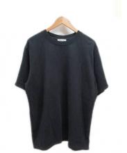 Acne(アクネ)の古着「半袖スウェット」|ブラック