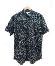COMME des GARCONS SHIRT(コム デ ギャルソン シャツ)の古着「半袖シャツ」|ブラック×グレー
