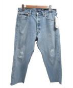 ATELIER&REPAIRS(アトリエ&リペアーズ)の古着「デニムパンツ」|ブルー
