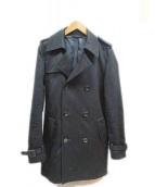 LITHIUM HOMME(リチウム オム)の古着「トレンチコート」|ブラック