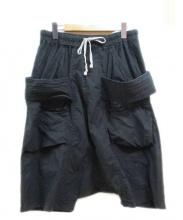 DRKSHDW(ダークシャドウ)の古着「サルエルハーフパンツ」|ブラック