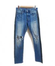 Hysteric Glamour(ヒステリックグラマー)の古着「デニムパンツ」|ブルー
