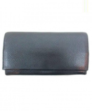 土屋鞄(ツチヤカバン)の古着「レザー長財布」 ブラック