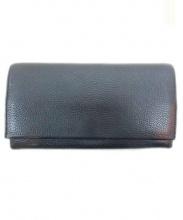 土屋鞄(ツチヤカバン)の古着「レザー長財布」|ブラック