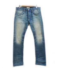 Ron Herman(ロンハーマン)の古着「ダメージデニムパンツ」|インディゴ