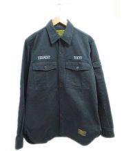 NEIGHBORHOOD×BURTON(ネイバーフッド×バートン)の古着「ワークシャツ」|ブラック