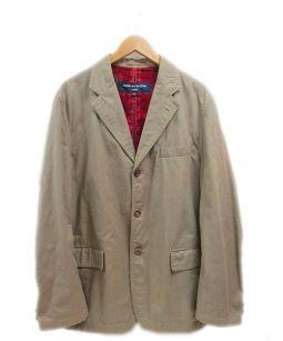 COMME des GARCONS HOMME(コムデギャルソンオム)の古着「テーラードジャケット」 ベージュ