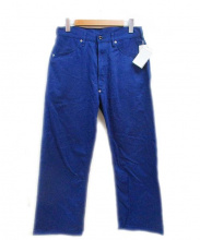 tuki(ツキ)の古着「スーパーダックテイルパンツ」|ブルー