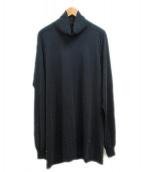 DRKSHDW(ダークシャドウ)の古着「タートルネックロングカットソー」|ブラック