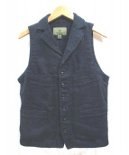 NIGEL CABOURN(ナイジェルケーボン)の古着「ベスト」|ネイビー