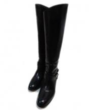 SARTORE(サルトル)の古着「ロングブーツ」 ブラック