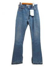 LEVIS(リーバイス)の古着「フレアデニムパンツ」|ライトブルー
