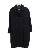 Max Mara(マックスマーラ)の古着「オーバーコート」|ブラック
