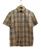 BURBERRY BLACK LABEL(バーバリーブラックレーベル)の古着「半袖シャツ」