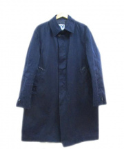 NVy by(ネイビーバイ)の古着「ステンカラーコート」 ネイビー
