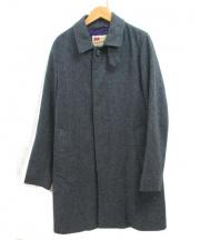 Traditional Weatherwear(トラディショナルウェザーウェア)の古着「ウールステンカラーコート」 ベージュ