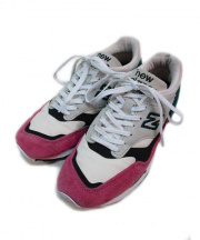 NEW BALANCE(ニューバランス)の古着「スニーカー」|ホワイト×ピンク
