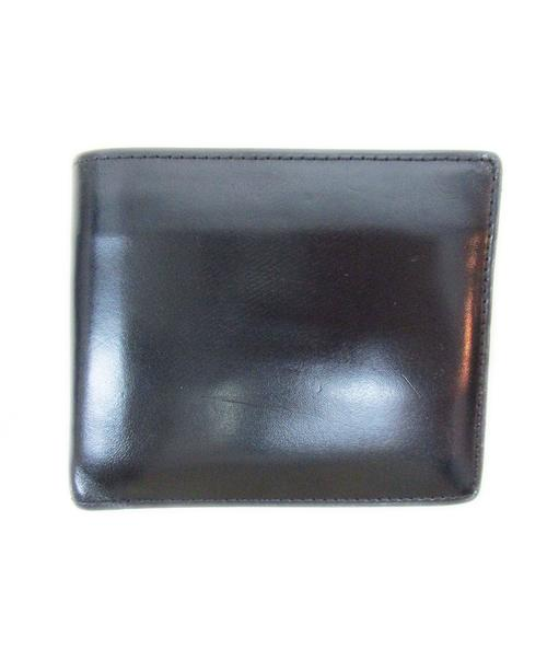 bca1b7db0fa1 中古・古着通販】GANZO (ガンゾ) 2つ折り財布 ブラック コードバン|古着 ...