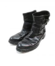 PADRONE(パドローネ)の古着「エンジニアブーツ」 ブラック