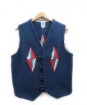 ORTEGAS(オルテガ)の古着「チマヨベスト」|ネイビー
