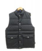 Traditional Weatherwear(トラディショナル ウェザーウェア)の古着「ダウンベスト」 ブラック