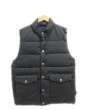 Traditional Weatherwear(トラディショナル ウェザーウェア)の古着「ダウンベスト」|ブラック