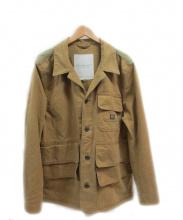 DENIM & SUPPLY RALPH LAUREN(デニムアンドサプライラルフローレン)の古着「ハンティングジャケット」 ベージュ