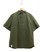 DESCENDANT(ディセンダント)の古着「半袖プルオーバーシャツ」