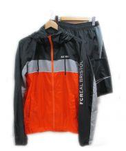 F.C.R.B.×NIKE(エフシーリアルブリストル×ナイキ)の古着「ナイロンジャケット」|ブラック×オレンジ