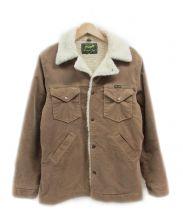 Wrangler × BEAMS(ラングラー×ビームス)の古着「コーデュロイランチジャケット」|ベージュ
