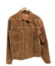 LEVIS MADE&CRAFTED(リーバイス メイドアンドクラフト)の古着「スウェードジャケット」|ブラウン