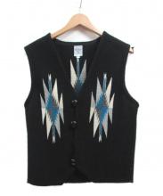 ORTEGAS(オルテガ)の古着「チマヨベスト」|ブラック