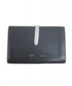 CELINE(セリーヌ)の古着「長財布」|ブラック×ホワイト