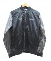 adidas(アディダス)の古着「ジップジャケット」|ブラック