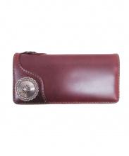 THE FLAT HEAD(ザフラットヘッド)の古着「コードバン長財布」