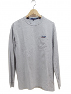 PALACE(パレス)の古着「長袖ポケットTシャツ」|グレー
