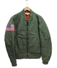 Denim & Supply Ralph Lauren(デニムアンドサプライ ラルフローレン)の古着「MA-1ジャケット」