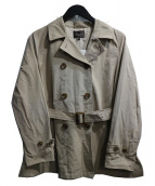 Demi-Luxe BEAMS(デミルクス ビームス)の古着「スラブタッサーショートトレンチコート」