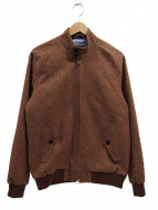 J.PRESS(ジェイプレスメン)の古着「ハリントンジャケット」|ブラウン
