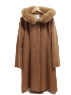 ef-de(エフデ)の古着「フーデッドコート」|ベージュ