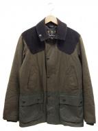 Barbour(バブアー)の古着「切替エルボーパッチオイルドジャケット」