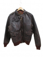 AVIREX(アヴィレックス)の古着「A-2レザージャケット」