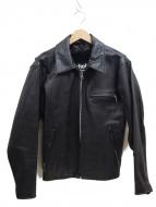 Schott(ショット)の古着「シングルライダースジャケット」|ブラック