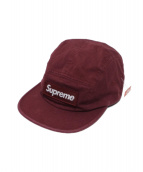 SUPREME(シュプリーム)の古着「ユティリティキャンプキャップ」 ワインレッド